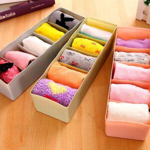 Household-Underwear-Socks-Storage-Boxes-Waterproof-Drawer-Boxes-Organiser-Holder