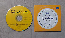 """CD AUDIO MUSIQUE/ DJ VALIUM """"GO RIGHT FOR"""" CDS 2T 2000 AIRPLAY RECORDS 156 866-2"""