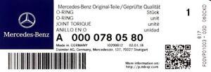 Genuine-Mercedes-Benz-OM642-OM651-INYECTOR-Fugas-De-Los-Sellos-De-Goma-A0000780580-X6