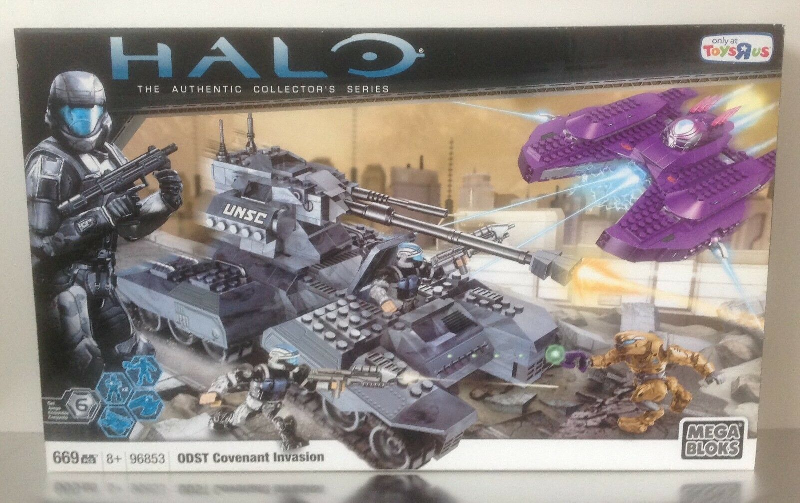 Halo Mega Bloks ODST Covenant Invasion 96853  ToysRus exclusive NEW & SEALED