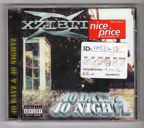 1 of 1 - (GY982) Xzibit, 40 Dayz & 40 Nightz - 1998 CD