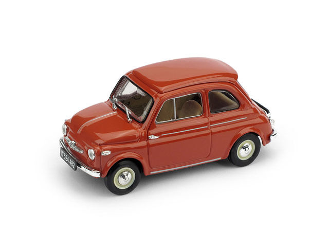 Steyr Puch 500D 1959 Red Corallo 1 43 Model BRUMM