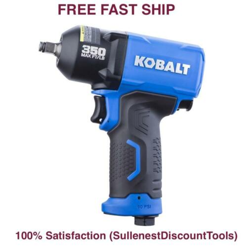 Kobalt Air Impact Wrench Pneumatic 3//8-in Drive  0.375-in 350-ft Tool Gun