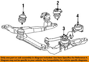details about ford oem engine motor mount torque strut f8dz6038aa 2003 Ford Taurus Ses Engine