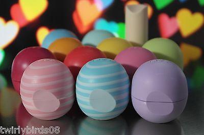 Set of 6 EOS Evolution of Smooth Lip Balms