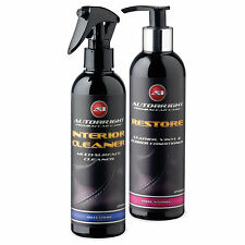 Autobright super Car cleaning & fresh Interior Valeting Leather Vinyl Rubber kit