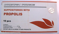 Suppositories With Propolis 10 Pcs
