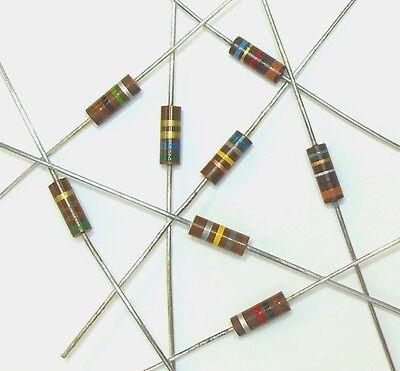Lot of 10 Carbon Comp 500mW 680K 1//2W 10/% Carbon Composition Resistor