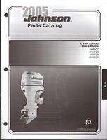2005 Johnson Outboard Motor 6 & 8 Hp 2 Stroke Parts Manual (579)