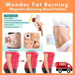 30X-Slim-Magnetic-Patch-Burning-Fat-Weight-Loss-Navel-Stick-Slimming-Detox-Cream