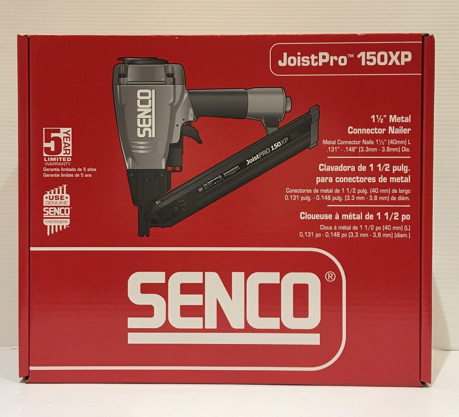 Senco 7L0001N JoistPro 150XP 1-1 2  Metal Connector Nailer, New Retail