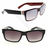 Bifocal Sunglasses Men's Retro Classic Quality Strong Durable Bifocal Readers