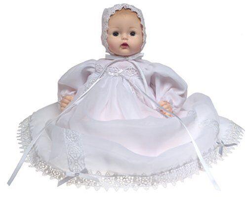 Christening Celebration  Huggums 12'' Baby Doll by Madame Alexander, New