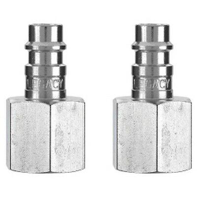 Hydraulics, Pneumatics, Pumps & Plumbing Other Air Compressors Legacy A53630fz-2pk Pack De 2 Flexzilla Haut Débit Prise 1/4 Corps 3/8 Fnpt Selected Material