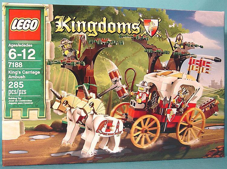Lego Kingdoms 7188 King's Carriage Ambush (MISB)