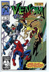 Venom-4-Lethal-Protector-Marvel-Comics-Spider-man-nm-1993-1st-Scream-LB1