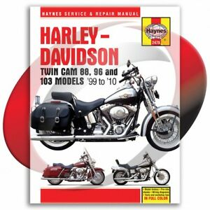 1999-2010-Harley-Davidson-Electra-Glide-Haynes-Repair-Manual-2478-Shop-Service