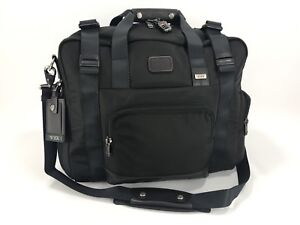 Tumi Alpha Bravo Buckner Duffel Weekender Gym Day Travel Bag Hickory ... 9819382487435