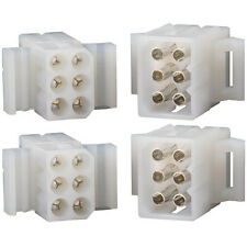 "Molex 6-Pin Connector Kit 0.093"" 2 Sets"