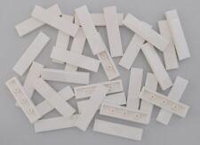 30 x LEGO® STEINE 1 x 4 NOPPEN GLATT FLIESEN FLIESE 2431 NEU WEISS
