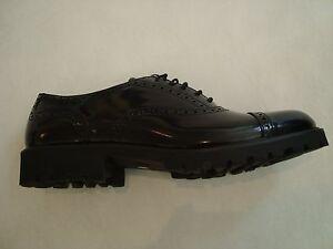Scarpe-MONTELPARE-mis-37-38-39-bambino-maschile-nera-black-shoes-nuova-6779