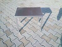 robuster Beistelltisch 60x40x50 cm Pflanztisch GÄRTNEREI Arbeits Tisch ALUMINUIM