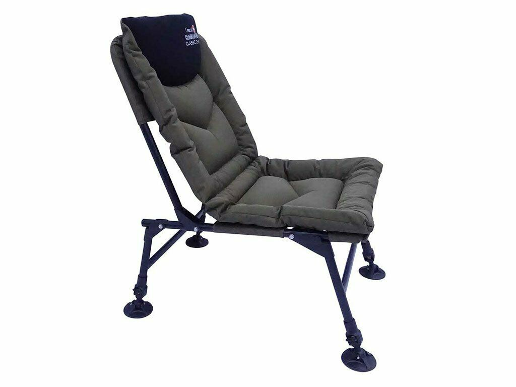 A0053 Prologic Comhommeder Classic Chair Chair voiturep Fishing Padded voiturep
