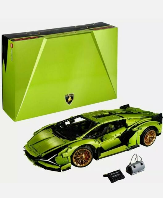 LEGO Technic 42115 Lamborghini Sian FKP Age 18+ 3696pcs SEALED / NEW