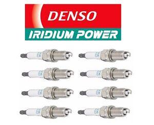 Set of 4 DENSO 3297 Japanese Iridium Long Life Spark Plugs For Mercedes Lexus