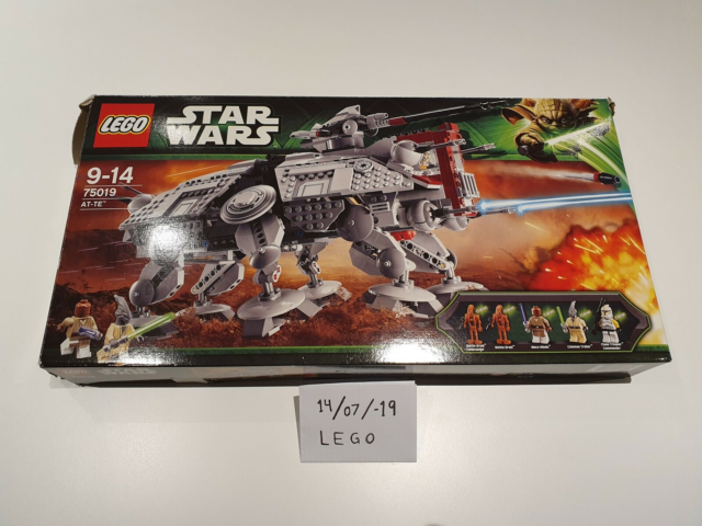 Lego Star Wars, 75019, AT-TE - åbnet