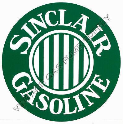 "Pair of Sinclair Ethyl 12/"" Vinyl Decals DC187"