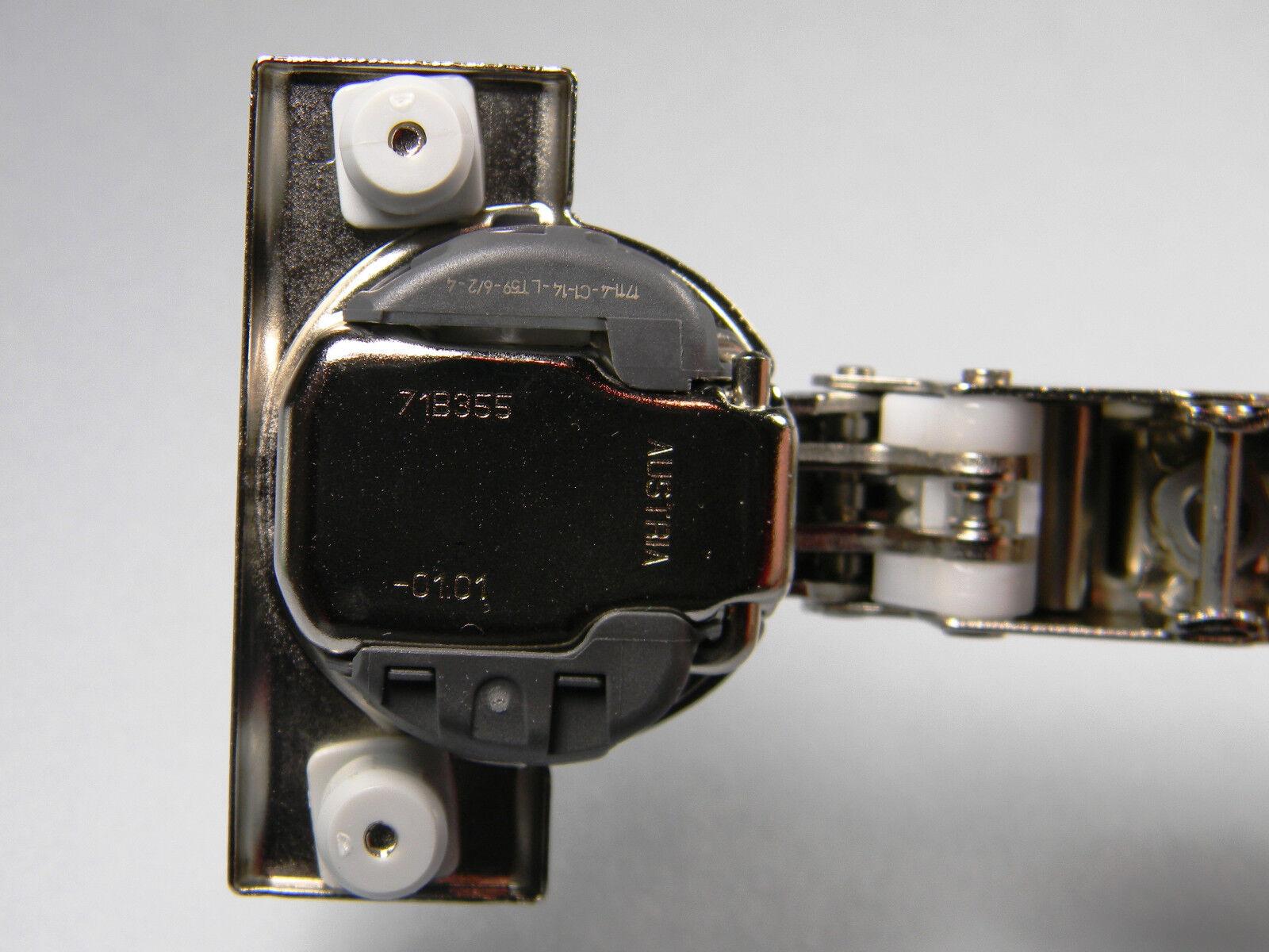 (50) blum blumotion blumotion blumotion 110° soft close hinge 71B3580  (PRESS IN) 852c73