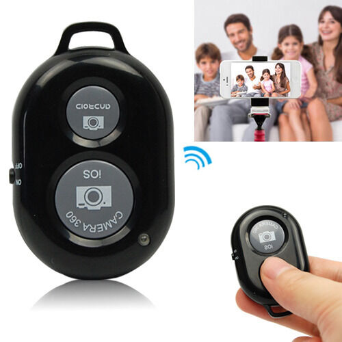 Wireless Bluetooth Self-Timer Remote Shutter Controller For iPhone Android Phone