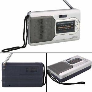 Universal Mini Tragbare Radio Am Fm Teleskop Antenne Radio Lautsprecher Stereo Tasche Radio Empfänger Unterhaltungselektronik Radio