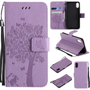 Leather-Flip-Embossed-Stand-Case-Wallet-Cover-For-Samsung-S8-Note-5-8-J7-J5-J3