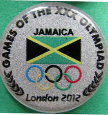 LONDON '12 Olympic JAMAICA NOC Internal team - delegation pin