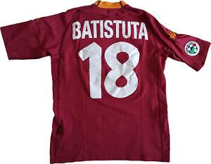 4ccd420c95 Caricamento dell immagine in corso maglia-Batistuta-ROMA-scudetto-2000-2001- Kappa-N0-