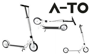 MONOPATTINO A-TO A-TO ULTIMO KICK WHITE / BIANCO STUNT SCOOTER FREESTYLE 200 mm