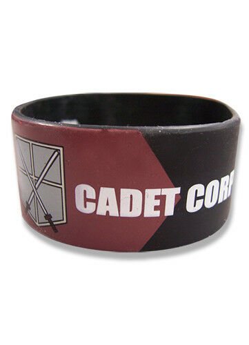 Wristband New Cadet Corp Anime Licensed ge54051 Attack on Titan