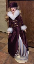 NEW DRESSED BARBIE DOLL 2000 VICTORIAN ICE SKATER