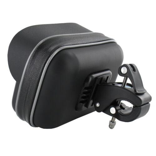 Motorrad Fahrrad Halterung für Garmin DriveSmart 50LMT-D Navi Bike Set Tasche