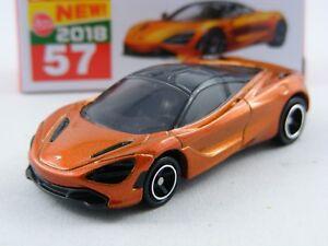 Gerade Mclaren 720s Orangemetallic Takara Tomy Tomica # 57 1/62