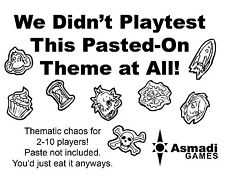 We Didn't Playtest This Pasted-On Theme At All Card Game Asmadi Games Themes
