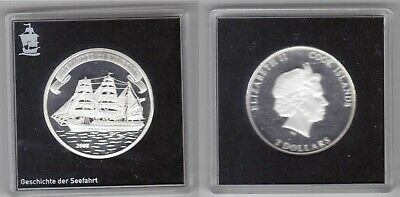 Cook Islands 2008 1$ Antonov An 148  Proof 1 Oz .999 Silver Coin LOW MINTAGE!!
