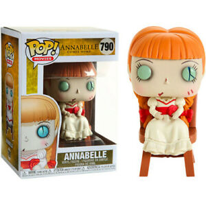 Annabelle Comes Home - Terrifying Annabelle in Chair Pop! Vinyl Figure Display