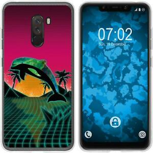 Xiaomi-Pocophone-F1-Coque-en-Silicone-Retro-Wave-M1-Case-films-de-protection