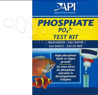 API Aquarium Test Kit Liquid Titration Color Change Fresh/Salt Water Aquarium