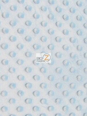 "DIMPLE DOT MINKY FABRIC 60/"" SEW-SOFT BABY FABRIC RAISED CHENILLE Banana"