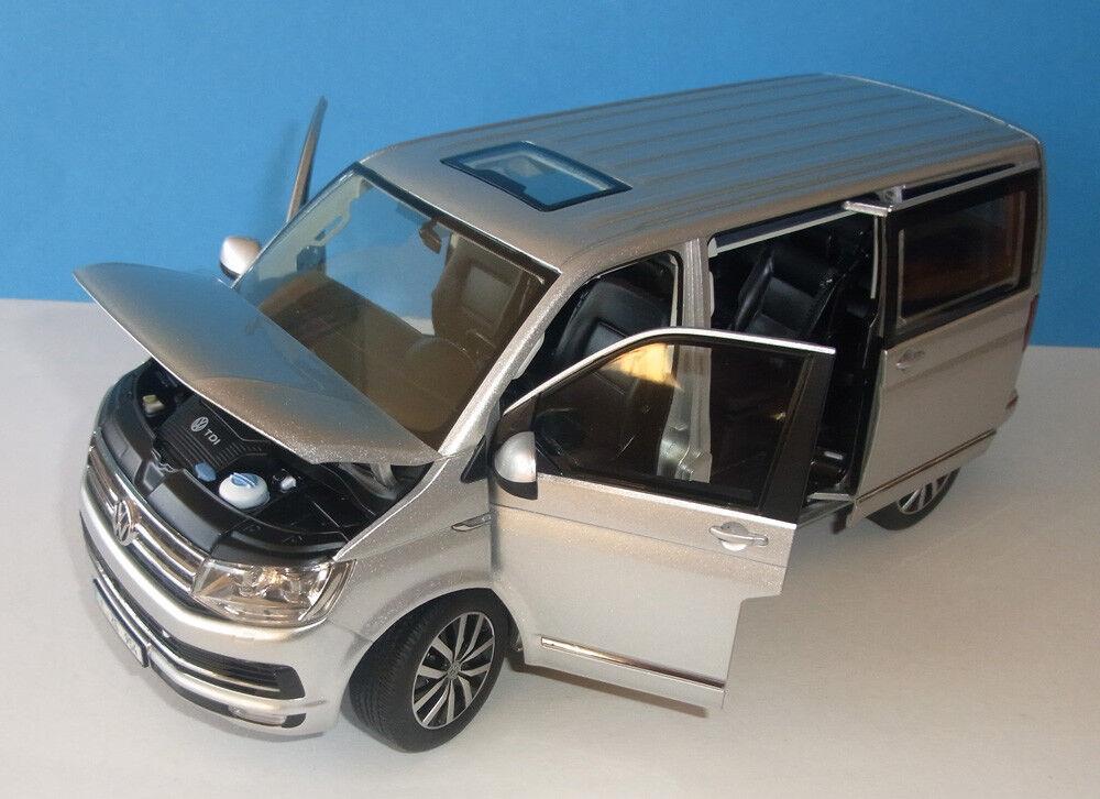 descuento de bajo precio 1 18 volkswagen t6 t6 t6 Multivan highline-plata-NZG-como nuevo embalaje original VW  100% a estrenar con calidad original.