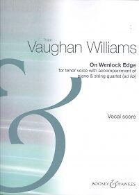 Vaughan Williams Sur Wenlock Edge Voix De Ténor-afficher Le Titre D'origine Demande DéPassant L'Offre